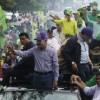 Danilo recorre Higüey-Yuma en marcha-caravana