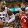 Raptors por igualar serie ante Cavaliers en playoffs de la NBA