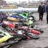 NY   Policía destruye cientos motocicletas incautadas