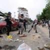 Fuerte presencia policial en municipio dominicano en huelga