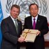 Santos entrega acuerdo de paz para Colombia al Consejo de Seguridad