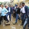 Medina se compromete a auxiliar a todos los afectados por diluvio
