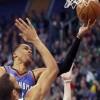 Durant y Westbrook brillan en Liga de baloncesto de la NBA