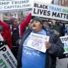 Los hispanos también protestan contra Trump