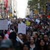 Marchas de protesta contra Trump en ciudades de EEUU