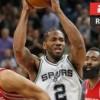 Spurs y Raptors avanzan a segunda ronda de playoffs en la NBA