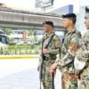 Militares y policías dominicanos preparan patrullaje conjunto
