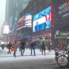 Advierten a dominicanos sobre nieve, frío y cambio de hora
