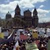 Cerca de 40 mil personas protestan en la Plaza Central de Guatemala