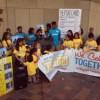 Caravana juvenil alza su voz contra las deportaciones
