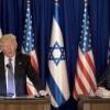 Trump en Israel aboga por la paz y se muestra hostil con Irán