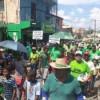 A ritmo de merengue el sur dominicano marchó contra la corrupción