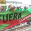 Marcha Verde realizó piquete frente a oficinas de Odebrecht