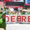 Piquetean Consulado dominicano por caso de corrupción e impunidad en RD