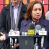 Senadora Alcántara se opone a reconstrucción de biblioteca