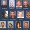 Arrestan 15 personas por drogas; hay varios hispanos