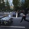 Decenas de policías heridos en protestas en Hamburgo