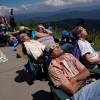 Eclipse solar sobre Estados Unidos dobló en audiencia al Super Bowl