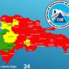 Dominicana eleva a 24 las provincias en alerta roja por huracán