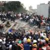 Rescatan a 52 personas de los escombros tras terremoto