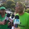 BANÍ | Activistas apoyan a trabajadores de las plantas a carbón