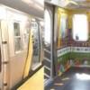 Trenes de NY sin asientos para mayor cupo pasajeros