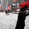 Reportan dos muertes por tormenta de nieve en noreste de EEUU