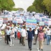 Constructores dominicanos marchan por mantener conquistas