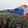 Miles de dominicanos en Marcha del Millón contra la corrupción