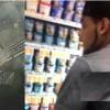 Policía persigue a pistolero y ladrón de supermercado