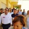 Ministro Andrés Navarro recorre zonas afectadas por sismos