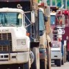 Estalló paro del transporte en la región sur del país