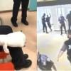 39 policías han sido atacados y heridos por jóvenes presos