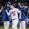 Dodgers arrincona a Bravos en serie divisional de MLB