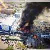Aumentan fallecidos por explosión en fábrica de plásticos