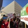 Miles de maestros comenzarán huelga en Los Ángeles, EEUU