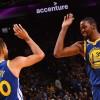 Warriors por su segundo triunfo en playoffs de la NBA