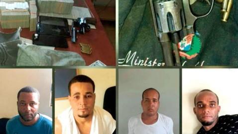 Policía apresa tres por asalto a sucursal de Banreservas