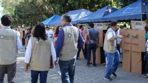 JCE recibe visita de la Misión de Observación Electoral de la OEA