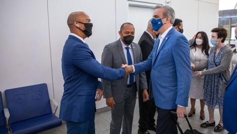 Presidente Luis Abinader arriba a la ciudad de Nueva York