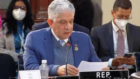 Presidente del Senado a favor del multilateralismo en la región