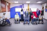 JCE busca inclusión con entrega de 4 sillas de ruedas a sus servidores