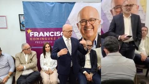 Precandidato presidencial del PLD sostiene encuentro con empresarios dominicanos en NY